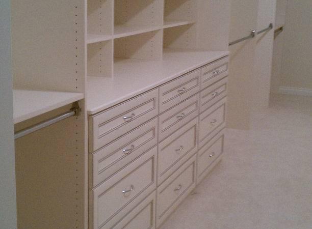 Antique White Slanted Ceiling Closet Clever Closets Inc Flickr