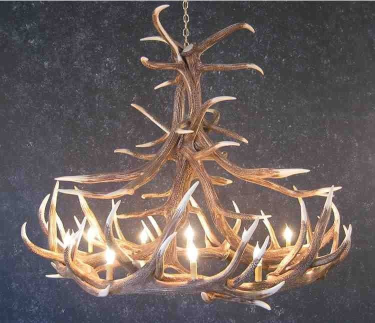 Antler Chandelier Pinterest Deer