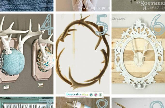 Antler Necklace Diy Always Rooney Paper Mache Deer Antlers