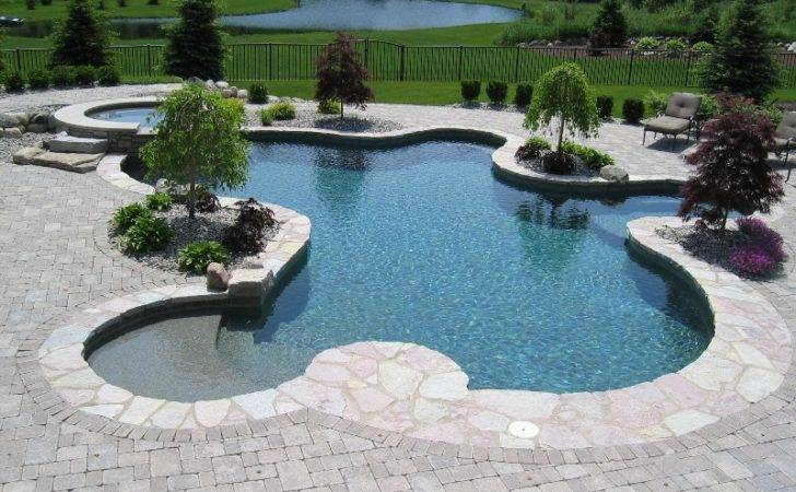 Any Our Photos Enlarge Them Inground Pool Design Planning