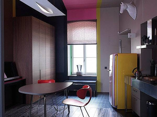 Apartment Interior Design Abstract Art Home