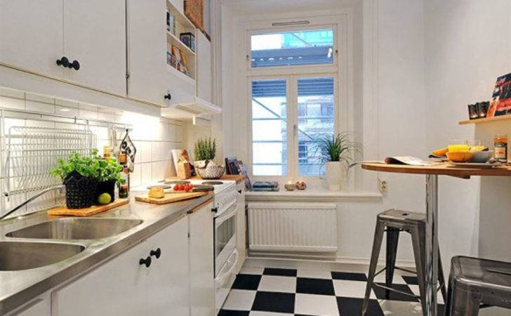 Apartment Small Modern Style Kitchen Studio