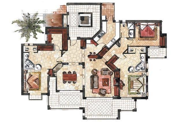 Apartment Types Gran Folies Espacio Inmobiliaria