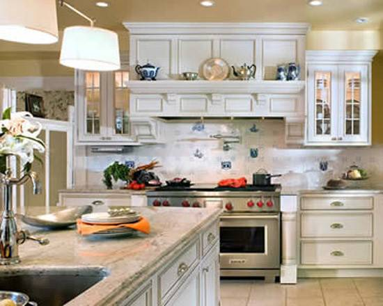 Appealing Traditional Home Kitchens Design Decoration Ideas