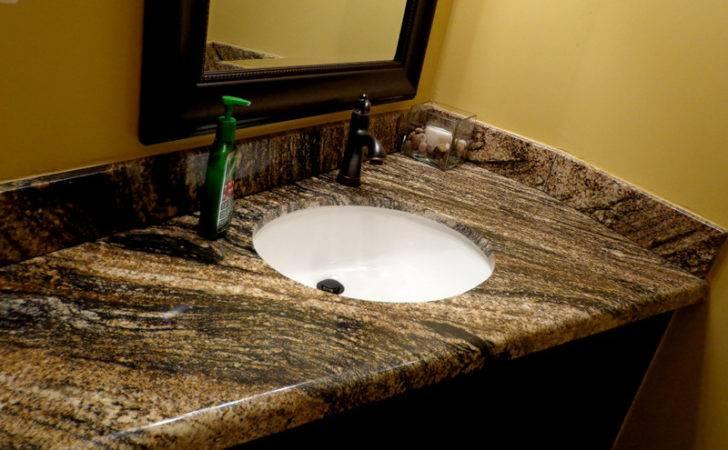 Application Granite Bathroom Countertops
