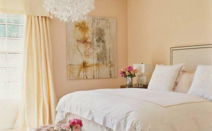 Apricot Wandfarbe Neural Farben Beige Bett Gardine Pastell Gelb