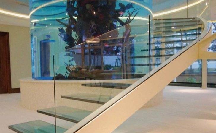 Aquarium Diapo Home Building Furniture Interior Design