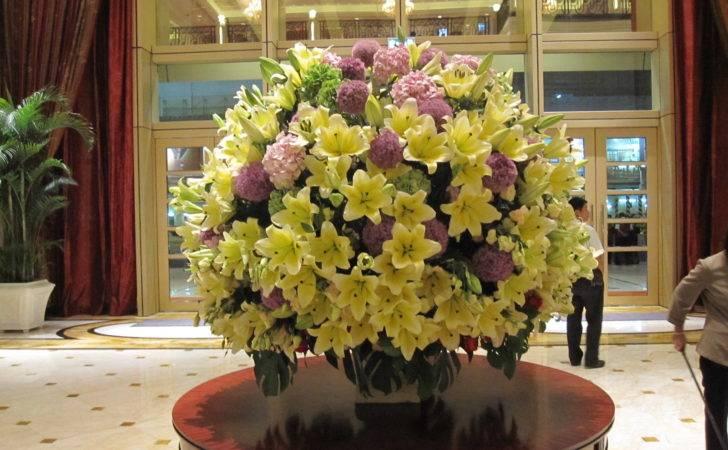 Arc Hotel Lobby Flower Arrangements Pinterest