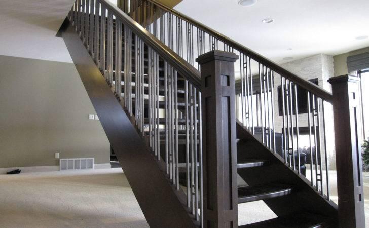 Architech Stairs Railings Contemporary Edmonton Red