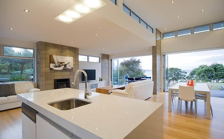 Architects Based Auckland Bay Coastal Home Plans