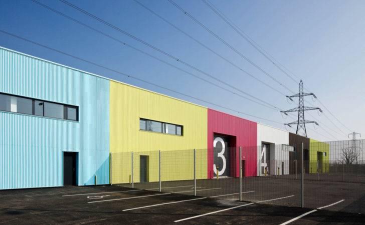 Architects Rainham Wildspace Warehouse Exterior Closer
