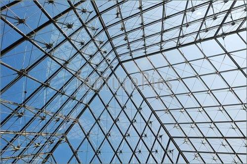Architectural Details Metal Glass Roof Structure
