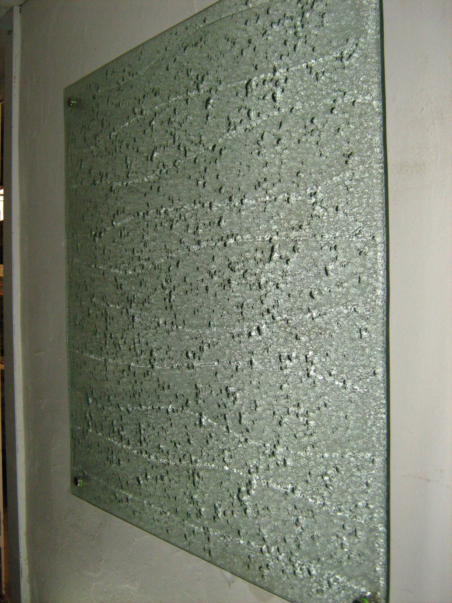 Architectural Textured Glass Panel