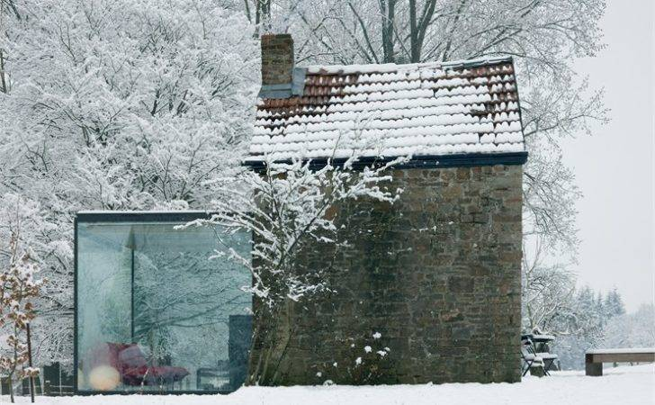Architecture London Small Glass House Extension Aabe