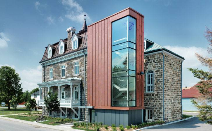 Architecture Modern Building City Hall Historic Convent Transformed