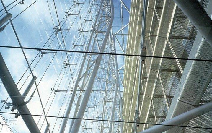 Area Steel Glass Structure Project Type Cable Structures Client