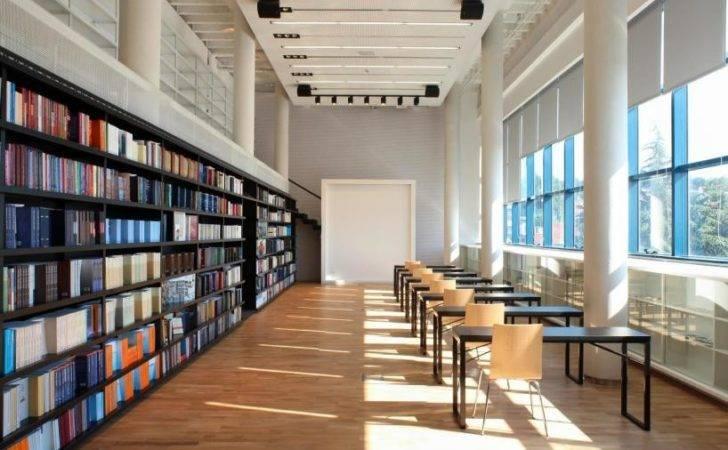 Arhitektura Library Interior Transformation