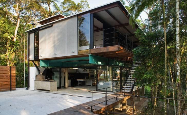 Arquitetos Brasileiros Projetam Casa Harmonia Mata Atl Ntica