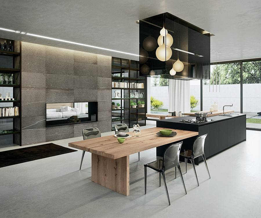Arrital Sophisticated Contemporary Kitchens Cutting Edge Design