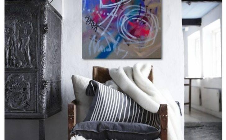 Art Abstract Interior Design Walls Pinterest