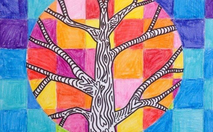 Art Class Ideas Schools Trees Room Warm Cool Colors