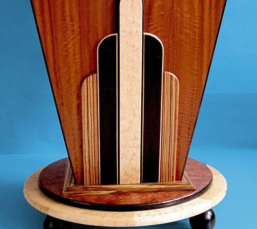 Art Deco Wood Details