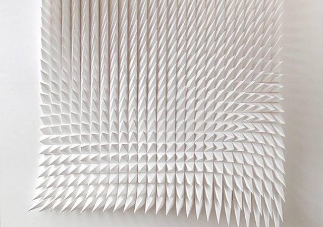Art Design New Geometric Paper Matthew Shlian Christopher