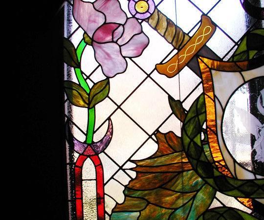 Art Nouveau Deco Stained Glass Windows Doors