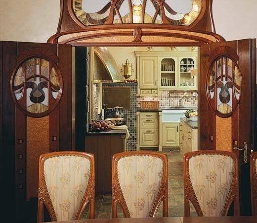 Art Nouveau Style House Villa Liberty Near Moscow Russia