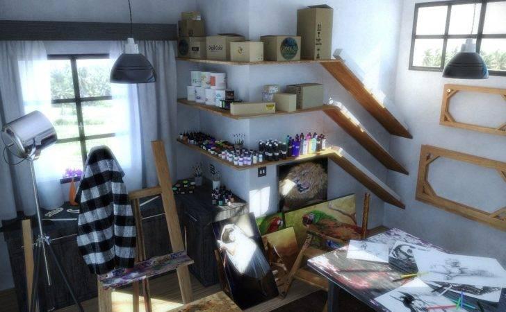 Art Studio Design Ideas Home Best Modern