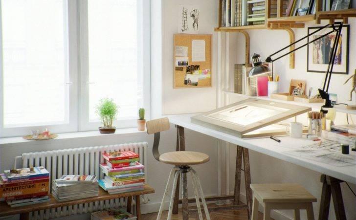 Art Studio Design Ideas Small Spaces