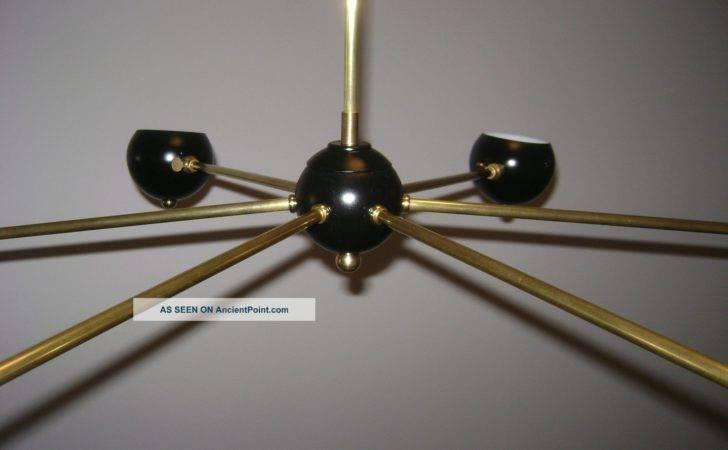 Arteluce Eames Stilnovo Ball Globe Satellite Chandelier Lamp Mid