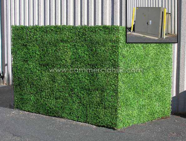 Artificial Boxwood Hedge Panels Outdoor Hedges
