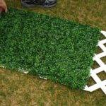 Artificial Boxwood Hedge Square Meters Plastic Hedges
