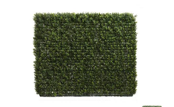 Artificial Boxwood Hedge Tall Wide
