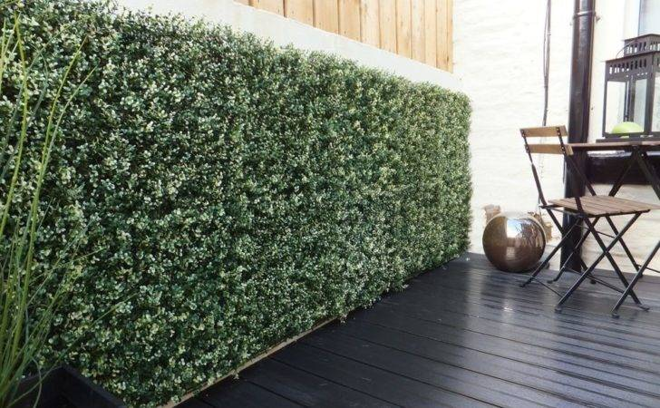 Artificial Boxwood Hedges Faux Mats Panels