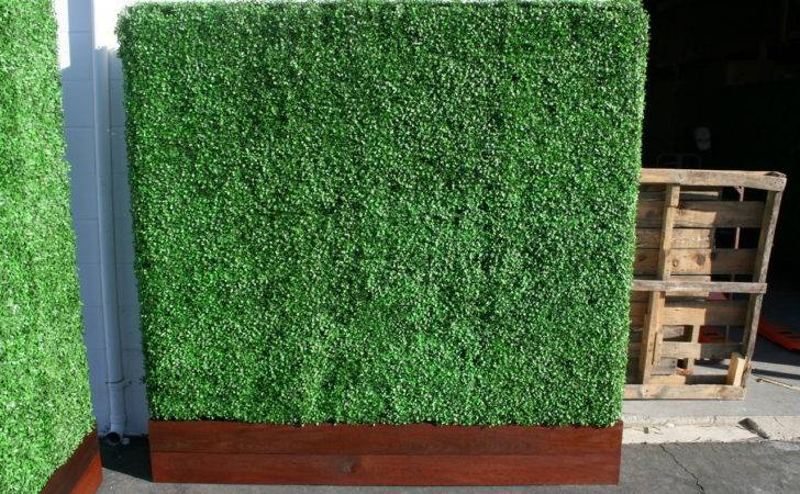 Artificial Boxwood Privacy Hedge Panels