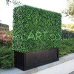 Artificial Boxwood Topiary Mats Fake Buxus Hedge Material