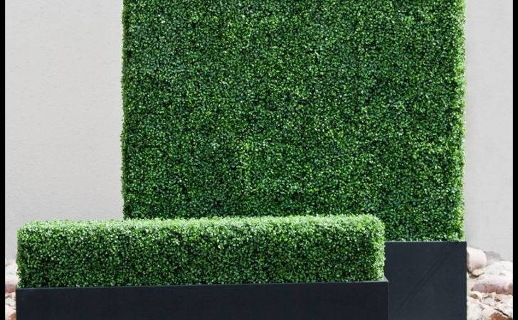 Artificial Hedges Outdoor Faux Boxwood