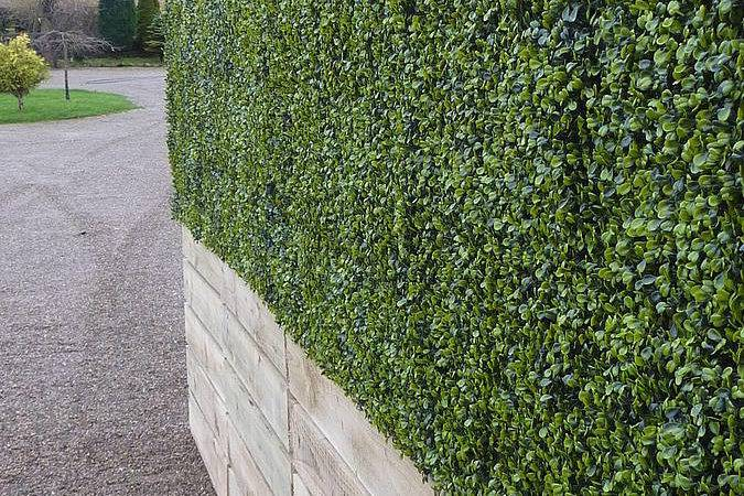 Artificial Landscapes Deluxe Instant Boxwood Hedge