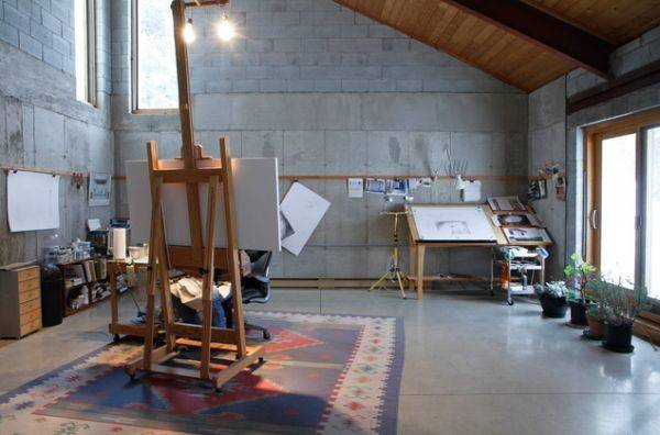 Artist Studios Workspace Interior Design Ideas
