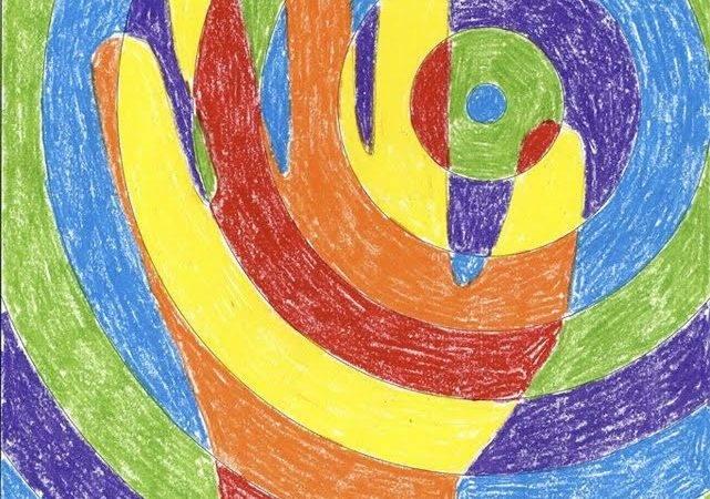 Arts Crafts Corner Art Project Warm Cool Colors