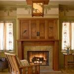 Arts Crafts Living Room