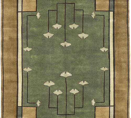 Arts Crafts Series Ginkgo Modern Bungalow