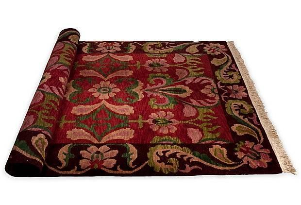 Arts Crafts Style Rug Rugs Vintage Wool