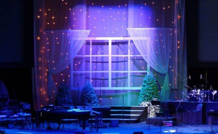Arts Pinterest Beautiful Christmas Stage Design