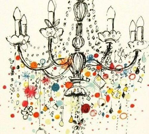 Artsie Illustrations Hardy Chandelier Chandeliers Charlotte