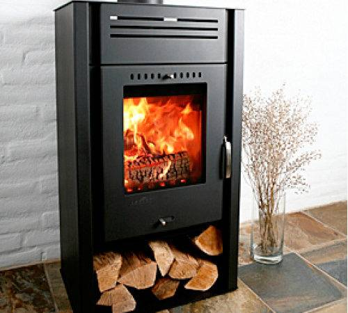 Asgard Defra Approved Modern Wood Burning Stove