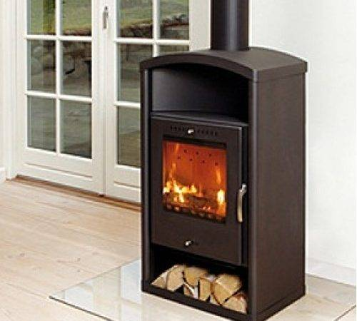 Asgard Modern Wood Burning Stove