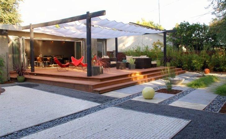 Asian Backyardpergola Patio Coverst John Landscapesberkeley